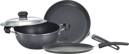 Prestige Omega Select Plus BYK Non Stick NA Pan 25 cm diameter with Lid 1 L capacity
