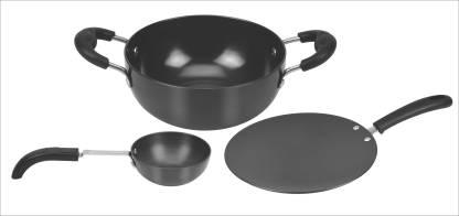 Kitchen Essentials Hard Annodised Gift Tawa 26 cm diameter
