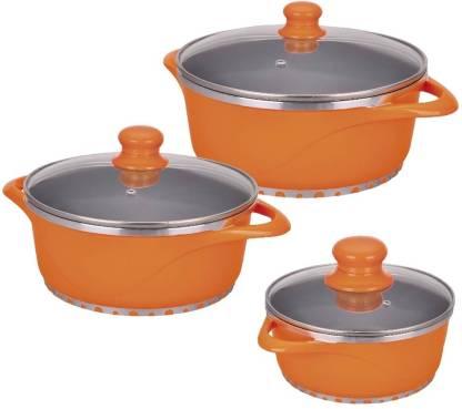 WONDERCHEF Ceramide Cook & Serve Casserole Set Pot Pot 16 cm diameter 1 L capacity with Lid