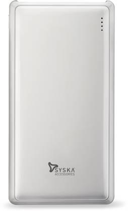 Syska 20000 mAh Power Bank (Fast Charging, 10 W)