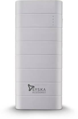 Syska 10000 mAh Power Bank (Fast Charging, 10 W)