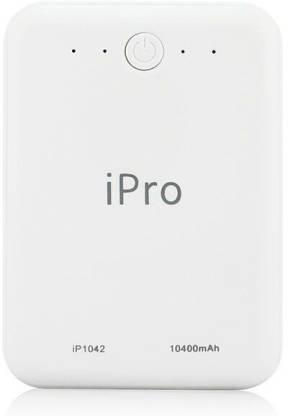 Ipro 10400 mAh Power Bank (10 W, Fast Charging)