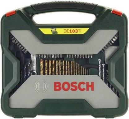 BOSCH 103-piece X-Line Titanium set Hand Tool Kit