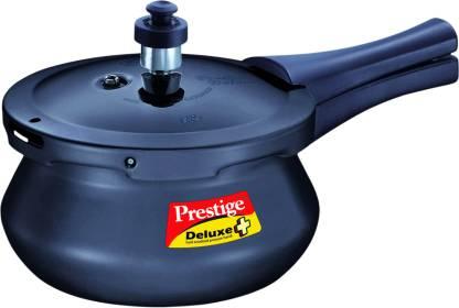 Prestige Deluxe Plus Hard Annodised Pressure Handi 2 L Induction Bottom Pressure Cooker