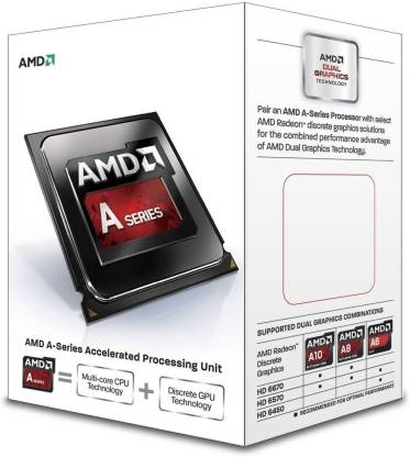 amd A8 -7600 3.8 Ghz FM2 Socket 4 Cores Processor