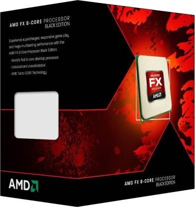 AMD 3.5 GHz FX 8320 8 Core Processor Black Edition