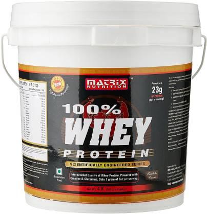 MATRIX NUTRITION 100% Whey Protein 4 kg Whey Protein