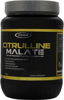 BIG MUSCLES Citrulline Malate-300 Gram BCAA