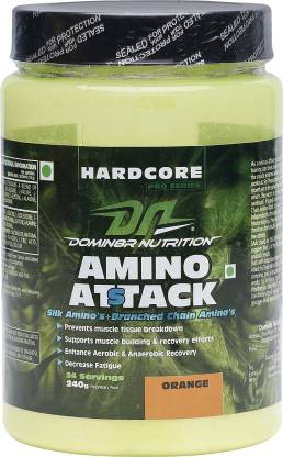 Dn Amino Attack Weight Gainers/Mass Gainers