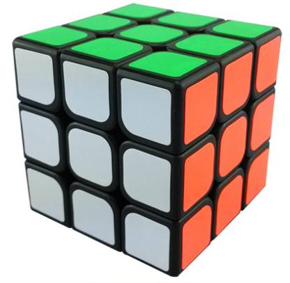 Funrally 3x3x3 Speed Cube Puzzle Black
