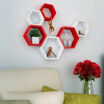 Home Decor India MDF (Medium Density Fiber) Wall Shelf