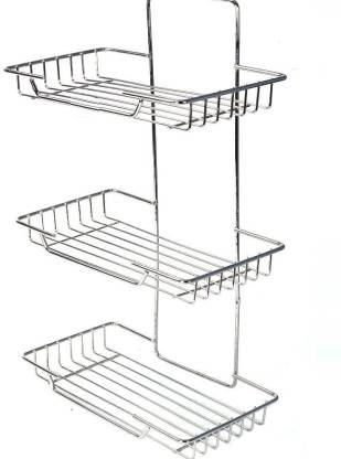 Kitchen Design Spice Rack Wall Mounting Stainless Steel Wall Shelf Price In India Buy Kitchen Design Spice Rack Wall Mounting Stainless Steel Wall Shelf Online At Flipkart Com