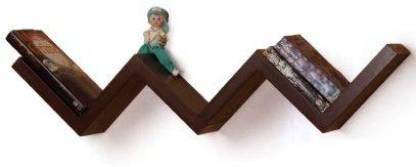Sajja Craft Wooden Wall Shelf