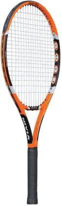 NIVIA Pro-drive Orange Strung Tennis Racquet
