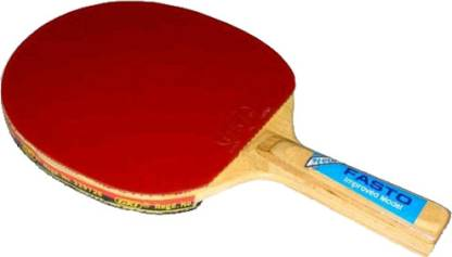 GKI Fasto Red Table Tennis Racquet