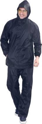 HighLands ST-100 Solid Men Raincoat