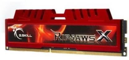 G.Skill RipjawsX DDR3 8 GB (Single Channel) PC DRAM (F3-12800CL10S-8GBXL)
