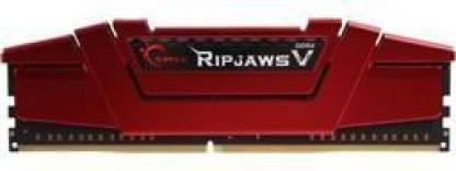 G.Skill Ripjaws V Series DDR4 8 GB (Single Channel) PC SDRAM (F4-2400C15S-8GVR)