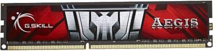 G.Skill Aegis DDR3 8 GB (Single Channel) PC (F3-1600C11S-8GIS)