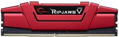 G.Skill RipjawsV DDR4 16 GB (Single Channel) PC SDRAM (F4-2400C15S-16GVR)