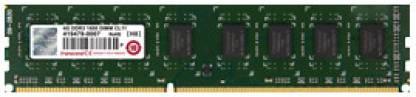 Transcend DDR3 2 GB PC DRAM (JM1600KLN-2G)