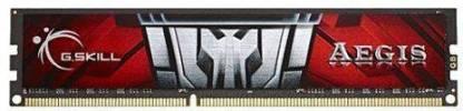G.Skill Aegis DDR3 4 GB (Single Channel) PC (F3-1600C11S-4GIS)