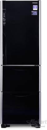 Hitachi 390 L Frost Free Triple Door Refrigerator