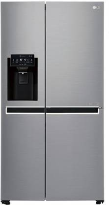 LG 668 L Frost Free Side by Side Refrigerator