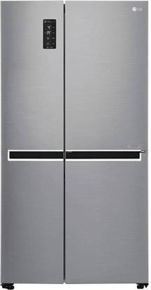 LG 687 L Frost Free Side by Side Refrigerator  with with Smart ThinQ(WiFi Enabled)