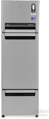 Whirlpool 260 L Frost Free Triple Door Refrigerator (Alpha Steel (N), FP 283D PROTTON ROY ALPHA STEEL (N))