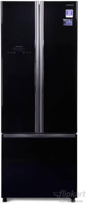Hitachi 456 L Frost Free French Door Bottom Mount Inverter Technology Star Refrigerator