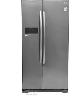 LG 581 L Frost Free Side by Side 4 Star Refrigerator