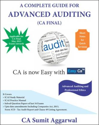 A Complete Guide for Advanced Auditing (CA Final)