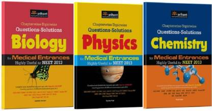 Chapterwise-Topicwise Questions-Solutions Physics, Chemistry And Biology For Medical Entrances Highly Useful For NEET 2013 (Set Of 3 Books) (English, Paperback, Preeti Gupta, Digvijay Singh, Sudhakar Banerjee)