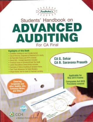 Padhuka'S Handbook On Advanced Auditing For Ca Final