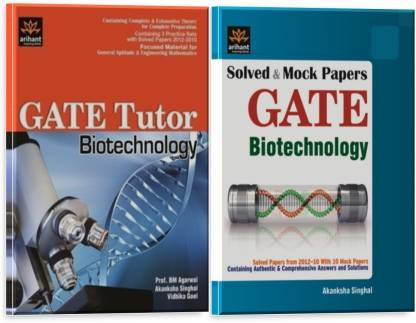 GATE Tutor Biotechnology With Solved Papers (Set Of 2 Books)