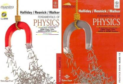 Fundamentals Of Physics : A Must-Have Resource Book CBSE JEE And NEET-UG Syllabi For Class - 12 (With CD) (English, Paperback, David Halliday)