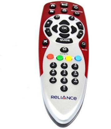 BIg TV Big-103 Rilance Big TV Remote Controller
