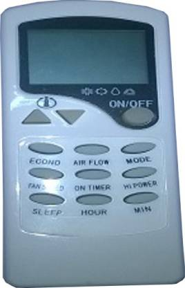 MEPL Compatible  Eco AC Compabible Videocon Remote Controller