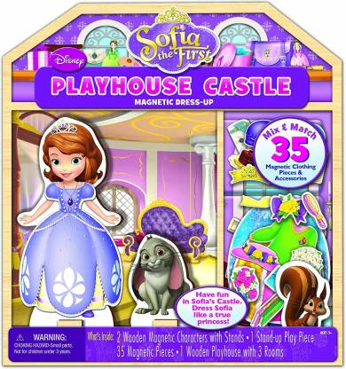 Bendon Inc Disney Sofia The First Wooden Magnetic Playhouse