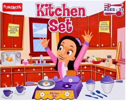FUNSKOOL Kitchen Set