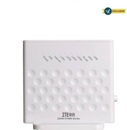ZTE H108N - 300 Mbps Wireless N ADSL Modem