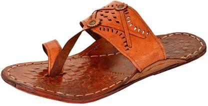 RYAG Men Brown Sandals