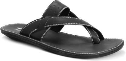 Twin Thong 8401 Men Black Flats