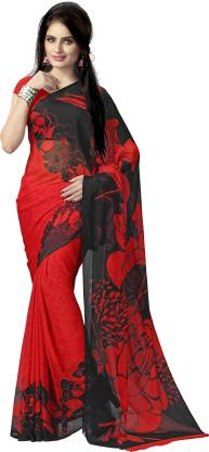 Vaamsi Printed Daily Wear Chiffon Saree