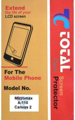 Total Care Screen Guard for Micromax Canvas 2 A110