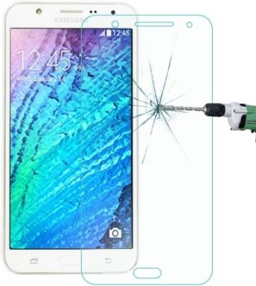 Go4Shopping Tempered Glass Guard for Samsung Galaxy J7