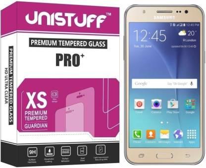 Unistuff Tempered Glass Guard for Samsung GALAXY J5-6 (New 2016 Edition)