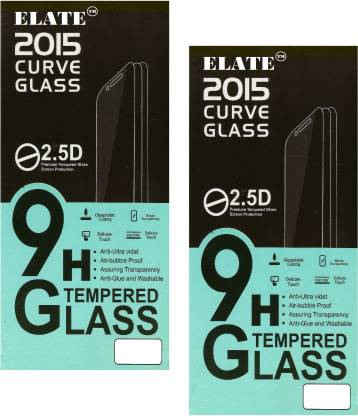 Elate Tempered Glass Guard for LYF WATER 5 u