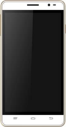 Intex Aqua Slice 2 (White + Gold, 8 GB)